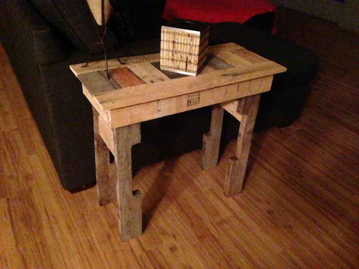 Amazing Homemade End Tables