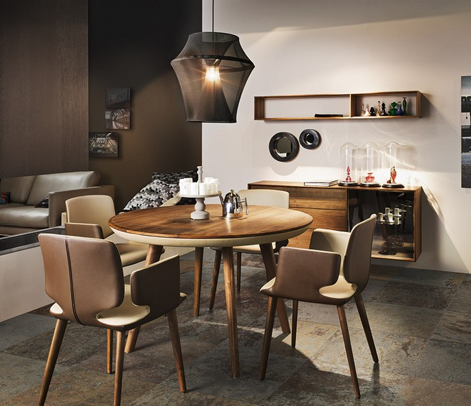 Round dining table 2