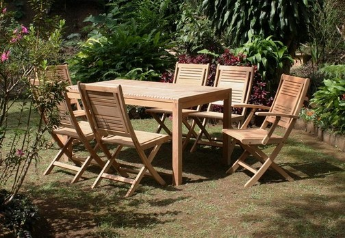 Teak patio furniture 3