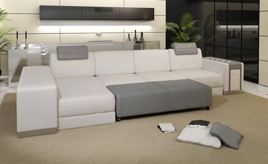 How to Keep the White Leather Sofa