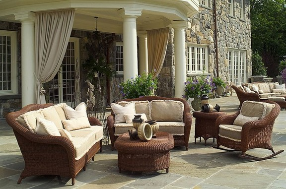 Outdoor wicker furniture 3