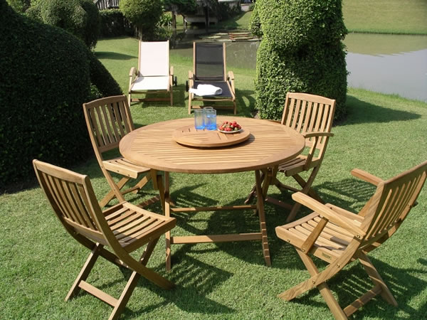 Teak patio furniture 2