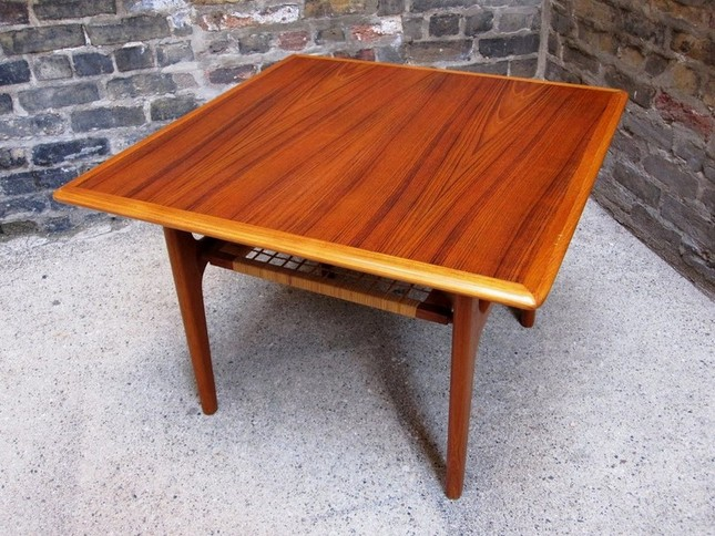 Teak Side Table Design