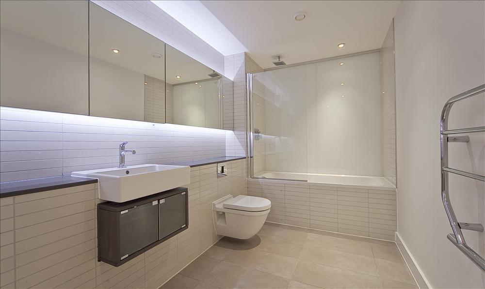 Rectangle Bathroom Design Ideas