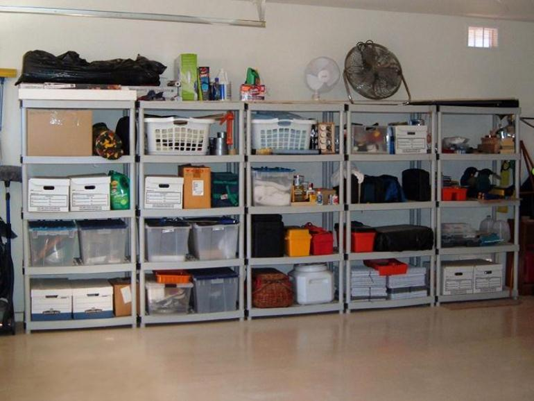 Get the Right Garage Shelving Ideas