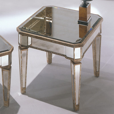 Elegant Mirror End Tables