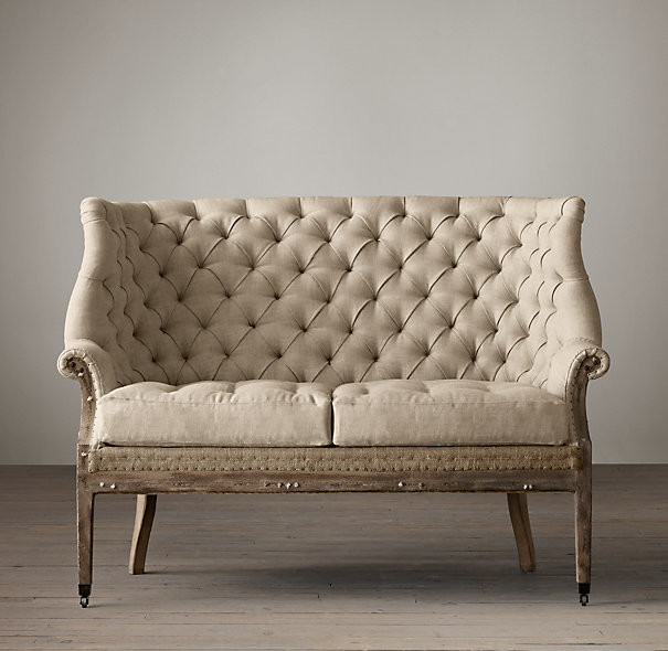 Loveseat Settee Design
