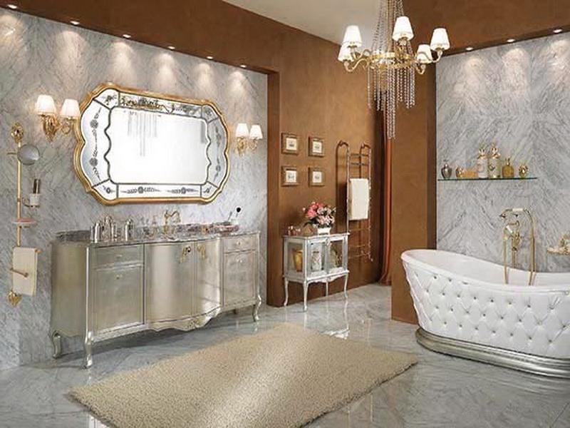 Royal restroom decorating 3