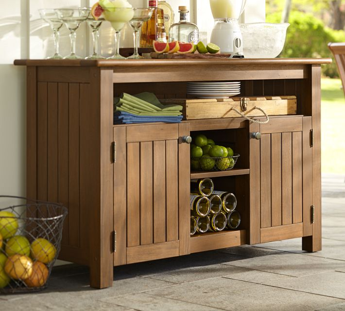Outdoor Buffet Cabinet Design
