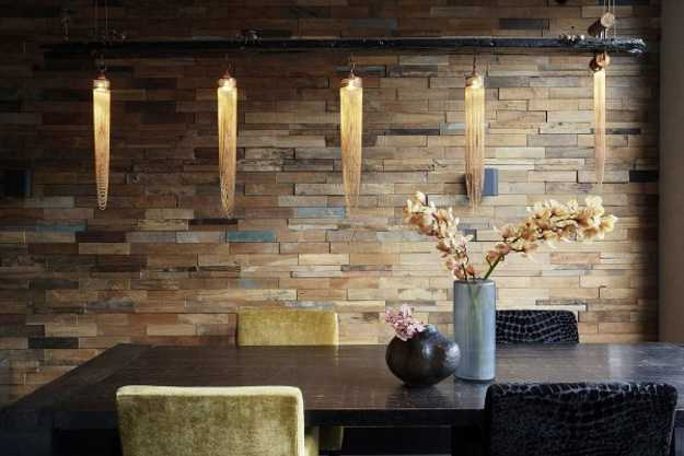 Stone interior walls design 3