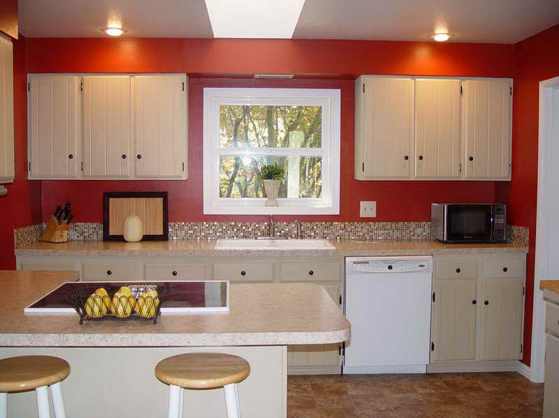 Kitchen Paint Colors Red