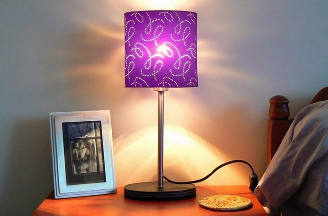 Bedside table lamps designs