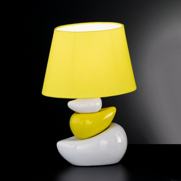 Yellow bedside table lamps. bedside table lamps