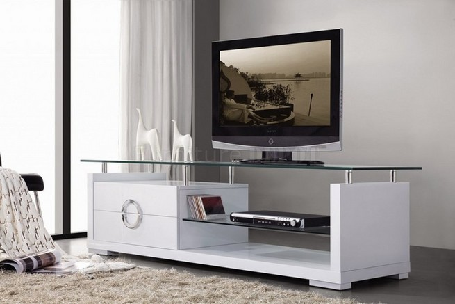 Contemporary TV Stands add modern appeal