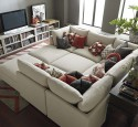 Small three piece sectional sofa