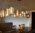 Pendant lighting fixtures for dining room