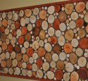 Wood wall art for outdoors