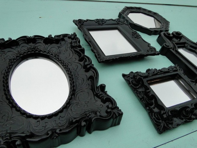 Framed mirrors small