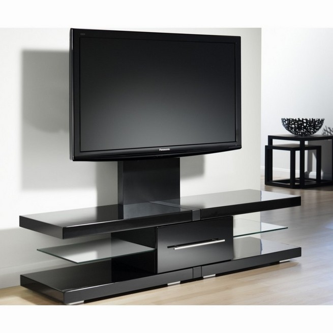 Convenience of large TV stands