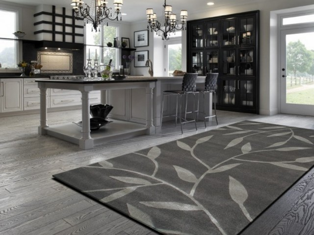 Benefits of modern kitchen rugs