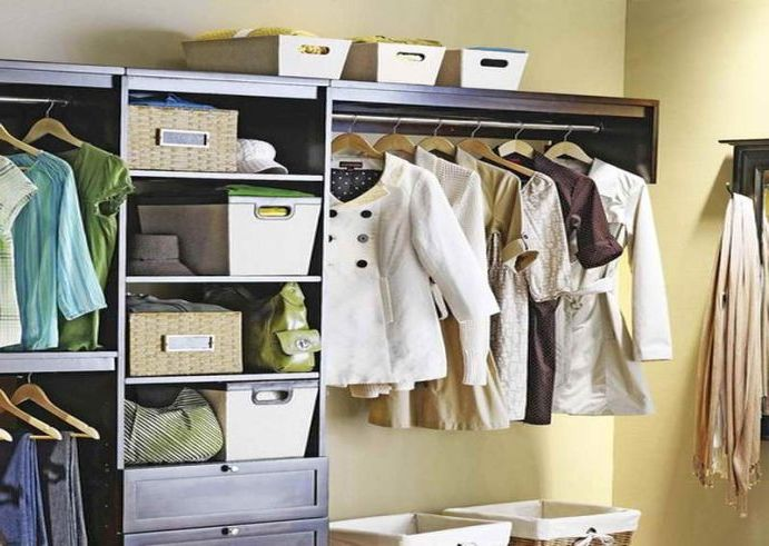 Portable wardrobe in your home