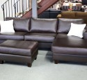 Small sectional leather couches
