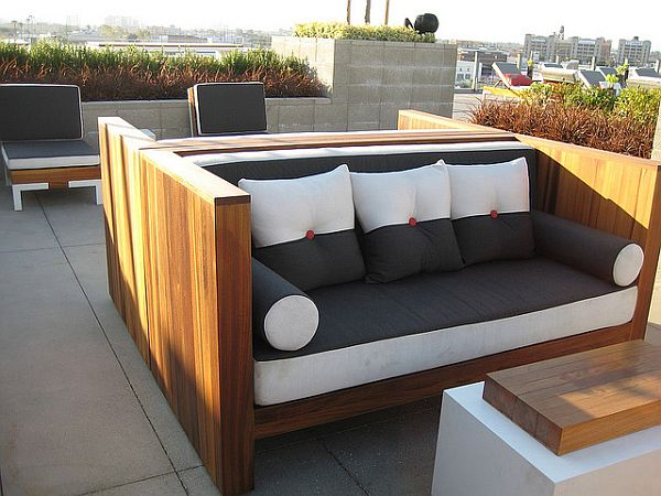 Modern outdoor furniture wood. outdoor furniture wood
