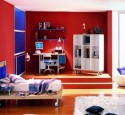 Boy room ideas red