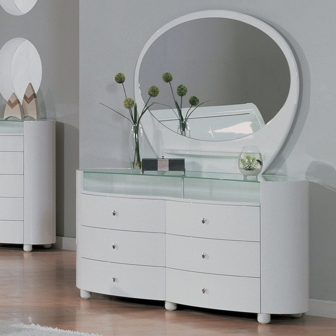 Beautiful white dressers in various styles