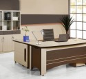 Home office computer desk cabinet table