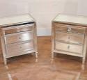 Mirrored nightstands ebay