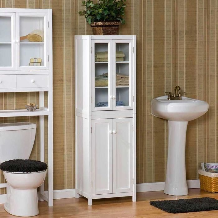 Choosing new bath storage cabinets and vanities