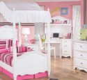Girls Canopy Bed Sets