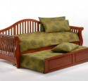 Queen size futon wood frame