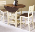 Small dining table with leaf