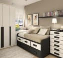 Furniture for small teenage bedrooms