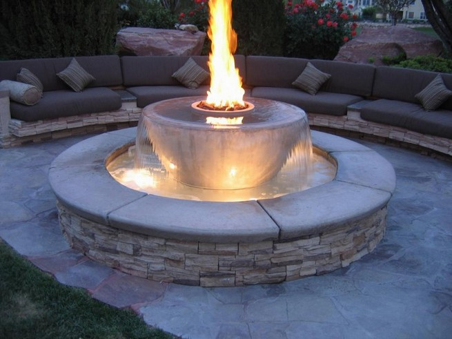 Cinder Block Fire Pit Adhesive