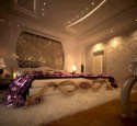 Romantic purple master bedroom ideas