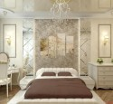Bedroom Design In Classic Style Gentle White