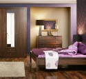 Purple bedroom wall ideas