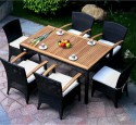 Patio chairs for table