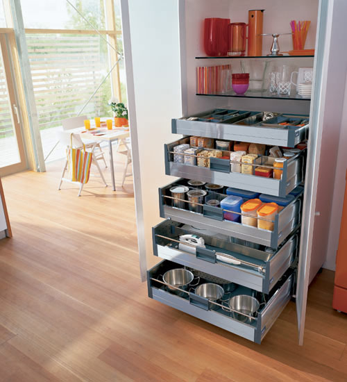 Types of kitchen storage cabinets