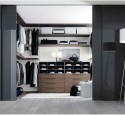 Free standing closets and wardrobes