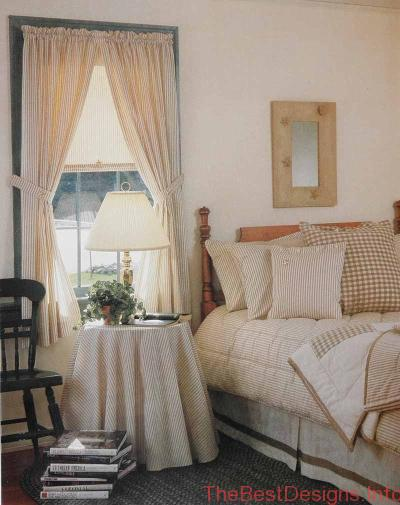 Bedroom Window Treatment Ideas Vintage Style