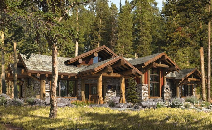 Design Of Rustic Log Cabins