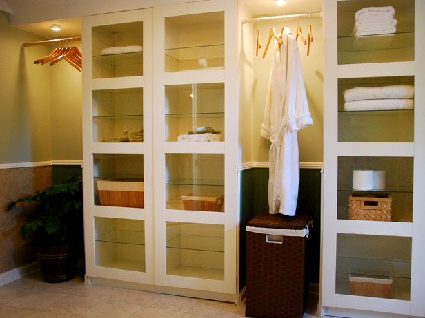 Some practical bathroom storage cabinets ideas