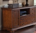Traditional office credenza