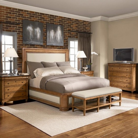 Bedroom chest in modern home interior