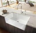 Corner kitchen sink granite