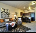 One bedroom apartments with den